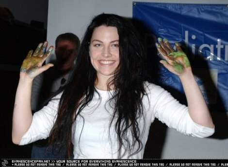 Amy Lee wallpaper titled 2004 Paint For PEP - Benefit For The Pediatric Epilepsy Project