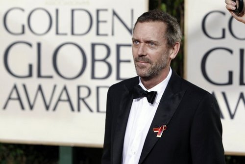 67th annual G.Globe Awards - Red Carpet - Hugh Laurie