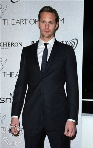 Alex At The Art of Elysium's 3rd Annual Black Tie Charity Gala