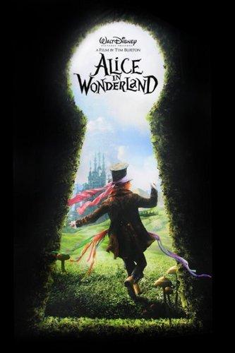 Alice in Wonderland (2010) wallpaper entitled Alice in wonderland