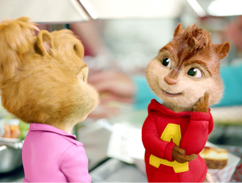 Alvin and the Chipmunks 2 images Alvin and Brittney HD ...