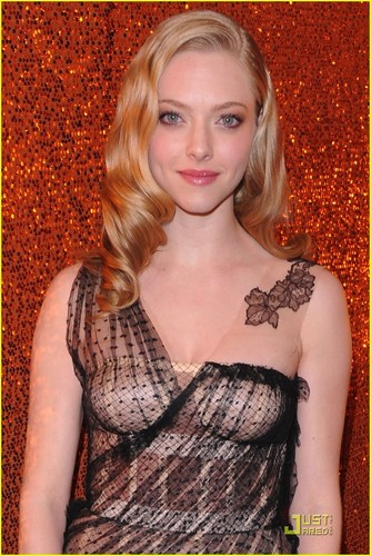 Amanda @ 2010 Golden Globe Awards