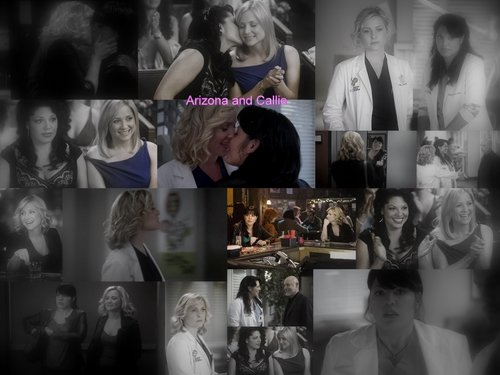 Arizona and Callie - greys-anatomy Wallpaper