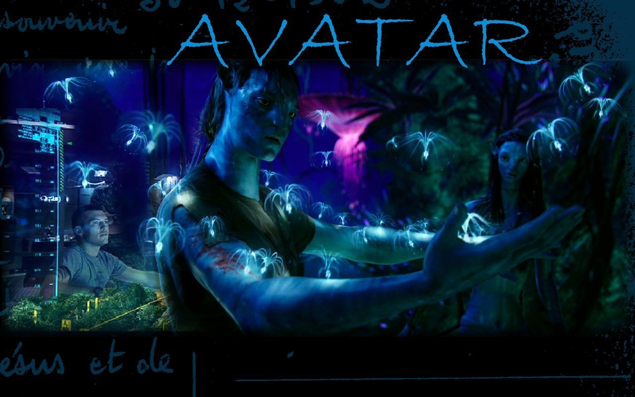 Avatar background Neytiri by