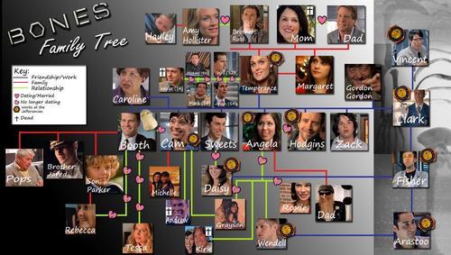 Bones Family Tree!