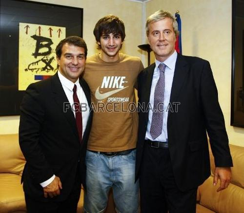 Barca presentation - ricky-rubio Photo