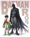 Batman and Robin - batman-and-robin fan art