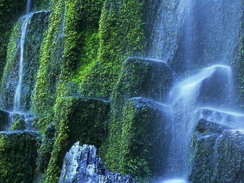 Beautiful waterfall creations