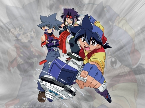 Anime wallpaper called Beyblade