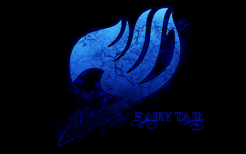FAIRY TAIL(フェアリーテイル) 壁紙 titled Blue FT Logo