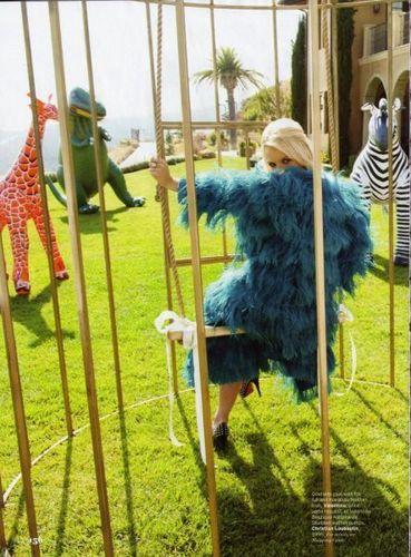 Britney at Elle Magazine