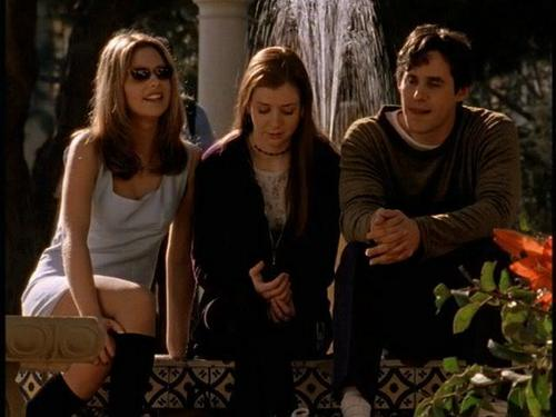 Buffy,Willow and Xander