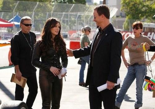 CSI: NY - Set 写真 of Danica Patrick