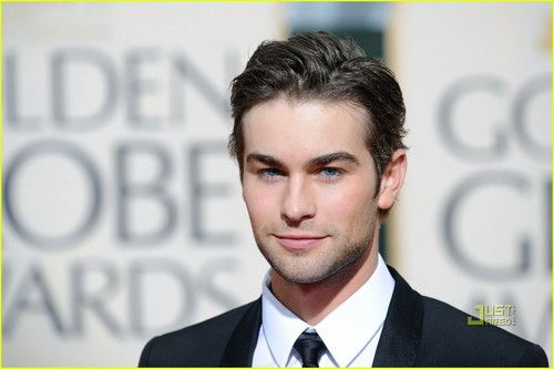 Chace Crawford at Golden Globes 2010