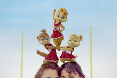 Cheerleeder Chipmunks