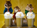 Chipmunks and Mocha - alvin-and-the-chipmunks-2 wallpaper