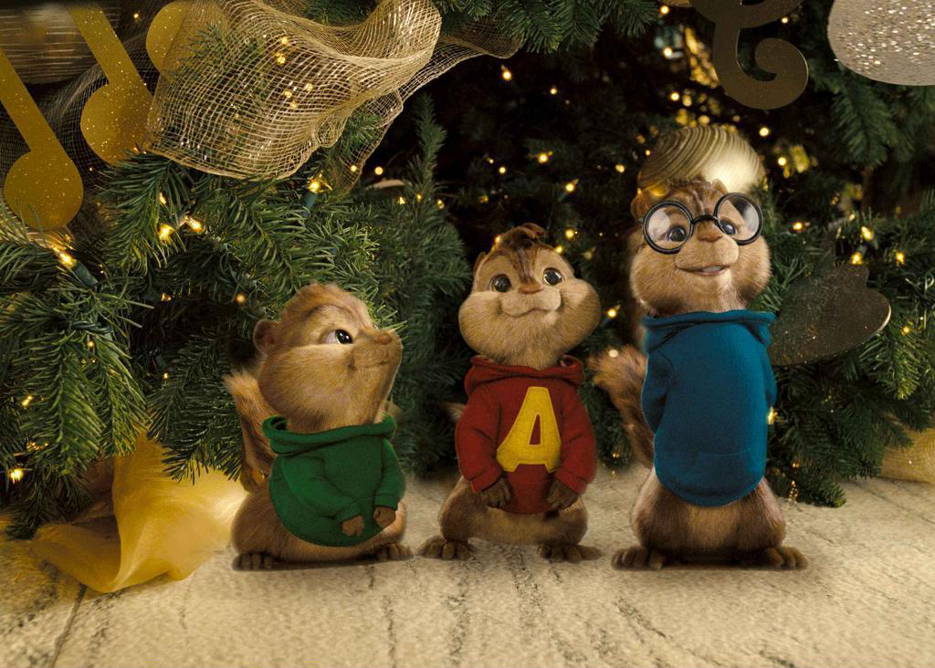 Alvin And The Chipmunks Christmas.Chipmunks At Christmas Alvin And The Chipmunks 2 Photo