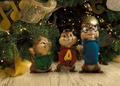 Chipmunks at Christmas