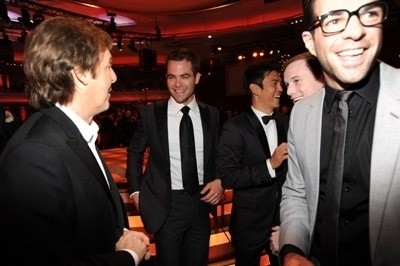 Chris and Zach at the 2010 Critics Choice Awards