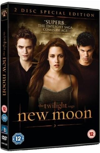 DVD cover New Moon - twilight-crepusculo Photo