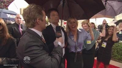 David Duchovny - 2010 Golden Globe Awards