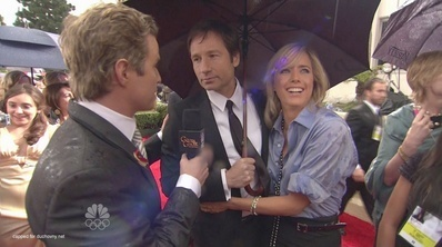David Duchovny - 2010 Golden Globe Awards