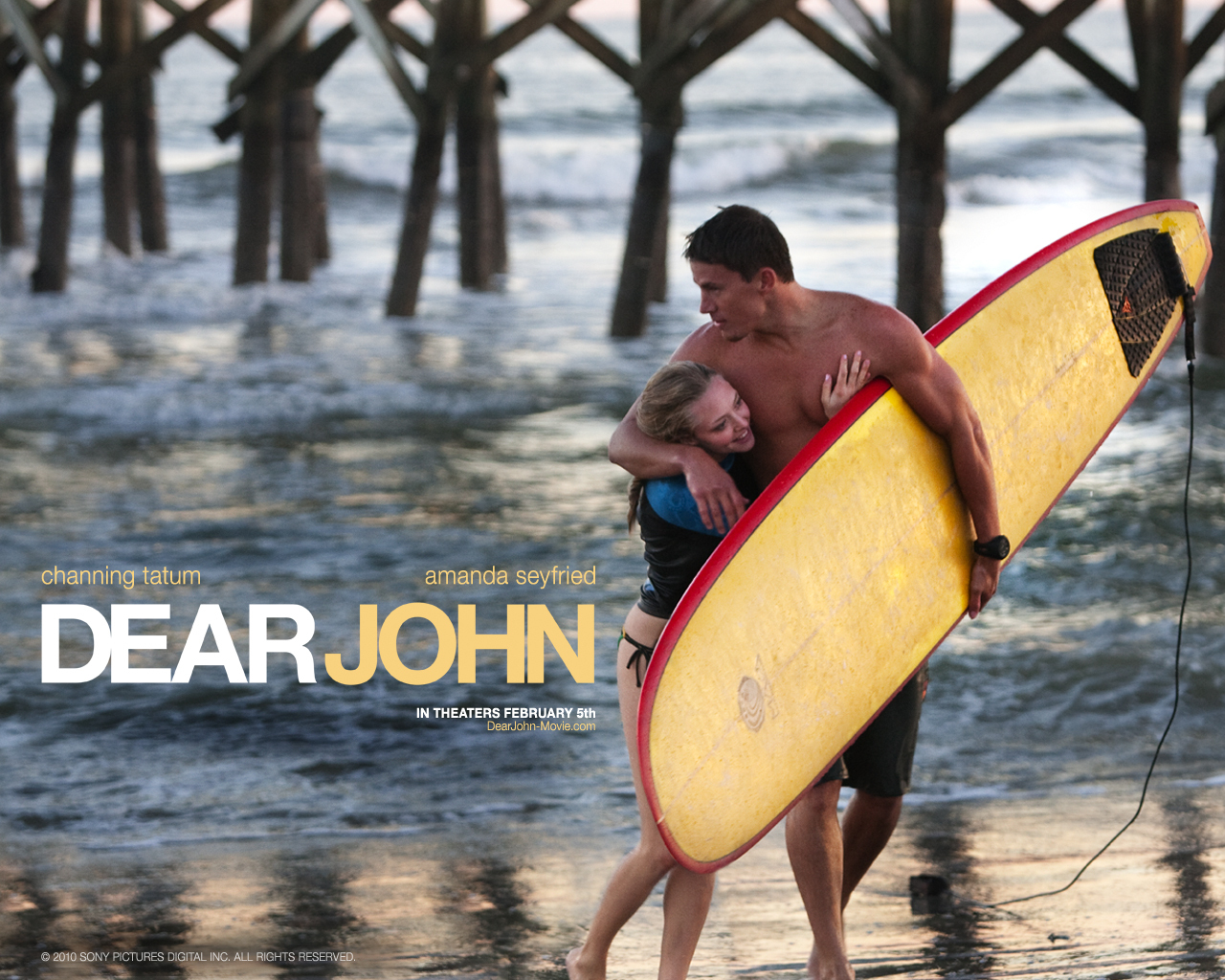 dear john Lasse hallstrom's dear john tells the heartbreaking story of two lovely young  people who fail to find happiness together because they're.