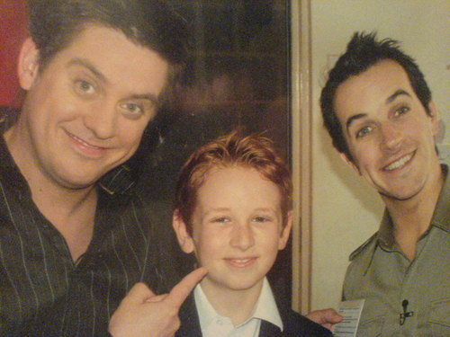 Dick and Dom with Sion Davies