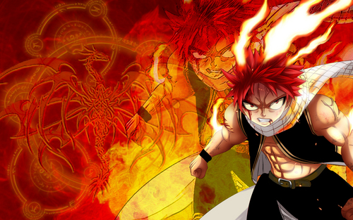 fairy tail wallpaper entitled Dragon Slayer Natsu