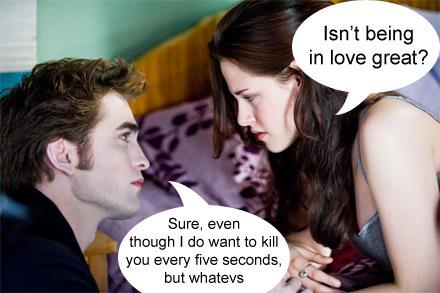 Edward & Bella Funny :D