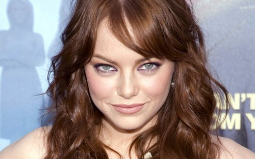 Emma Stone Widescreen پیپر وال
