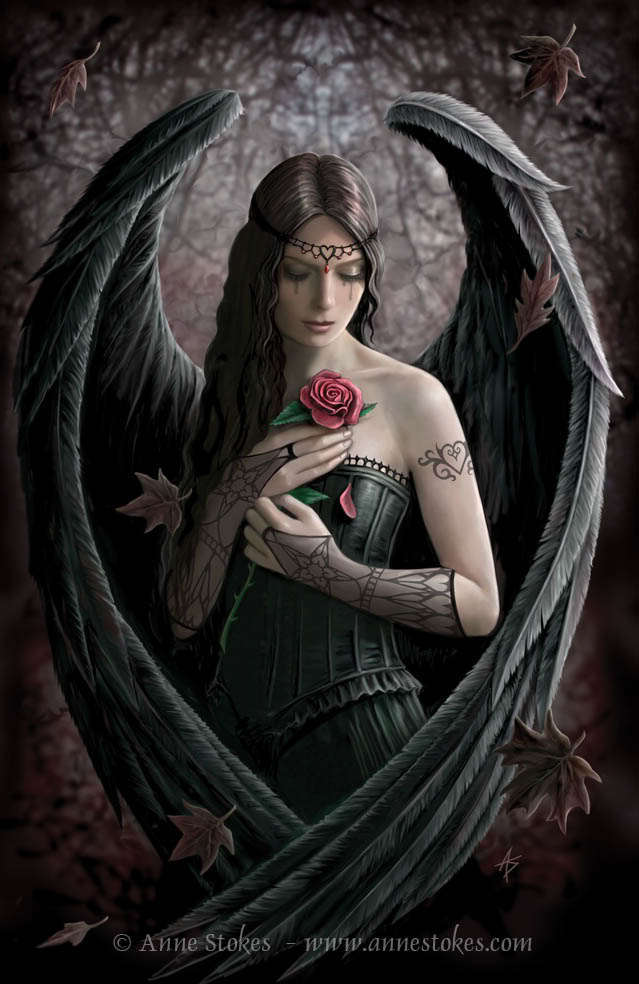 gothic angel wallpaper. Goth Angel
