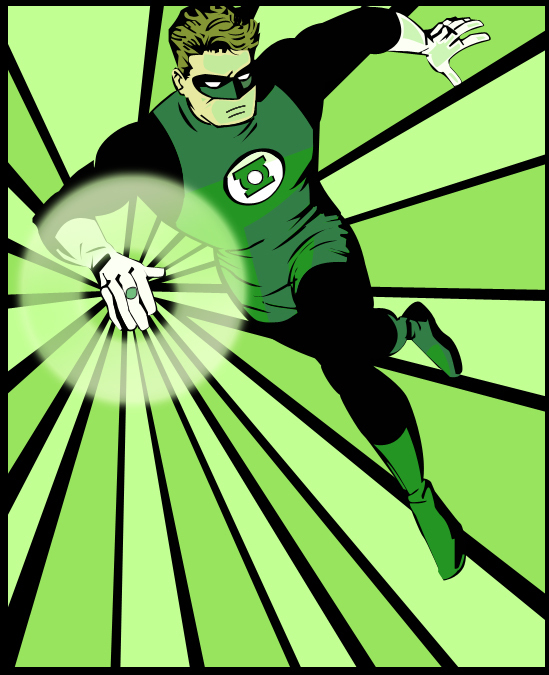 how to become a green lantern