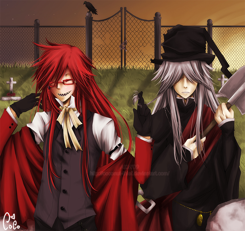 Black Butler Images Grell Undertaker HD Wallpaper And Background Photos