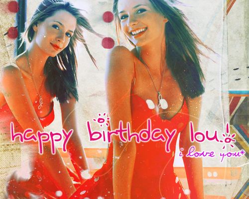 Happy Birthday Lou! ♥