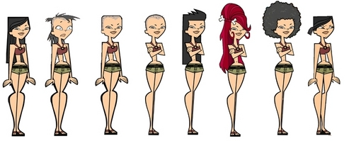 Total Drama Island Hintergrund called Heather's Hair
