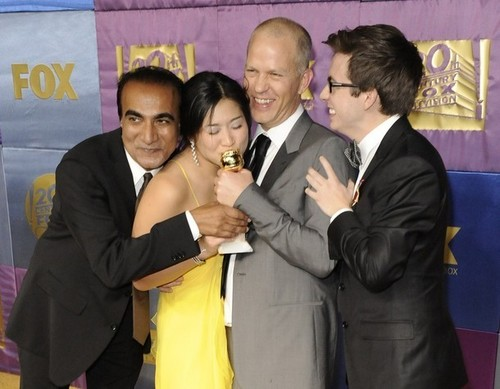 Iqbal, Jenna, Ryan and Kevin @ 67th Golden Globes After Party