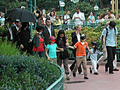 Jackson Kids at Disneyland in Paris