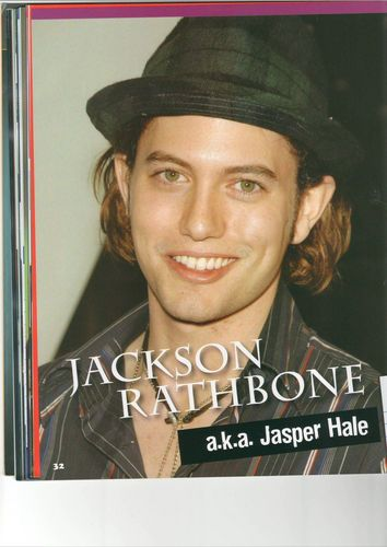Jackson Rathbone & Ashley Greene wallpaper entitled Jackson Rathbone
