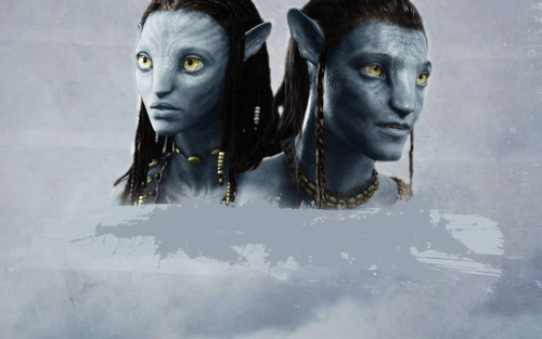 avatar wallpaper called Jake & Neytiri wallpaper