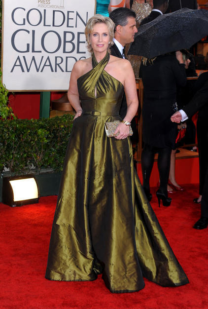 Jane Lynch @ 67th Golden Globes - Glee 422x626