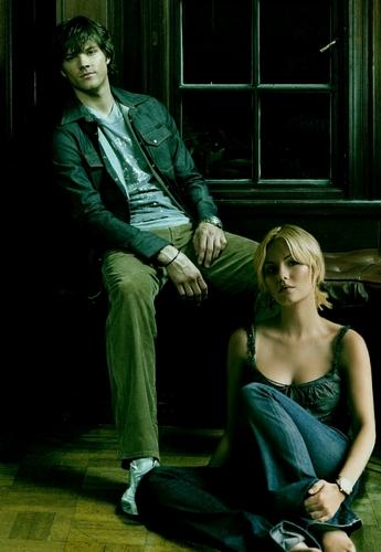 Jared Padalecki & Elisha Cuthbert