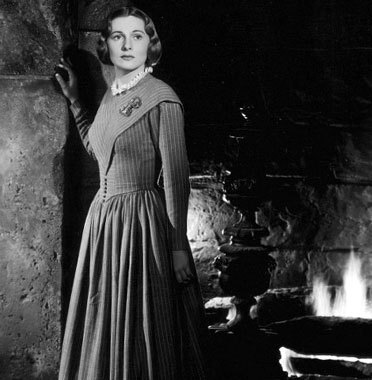 Joan Fontaine In The 1944 Classic Film Jane Eyre