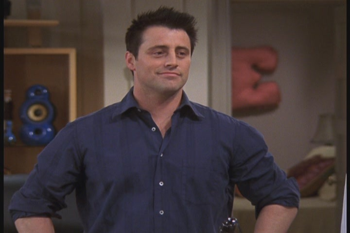 Joey Tribbiani - The Last One