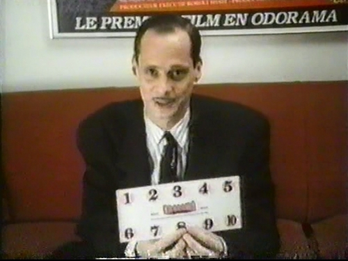 John Waters & scratch & sniff card - dreamlanders Screencap