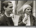 John waters`& Andy Warhol from Corbis