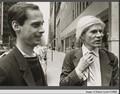 John waters`& Andy Warhol from Corbis