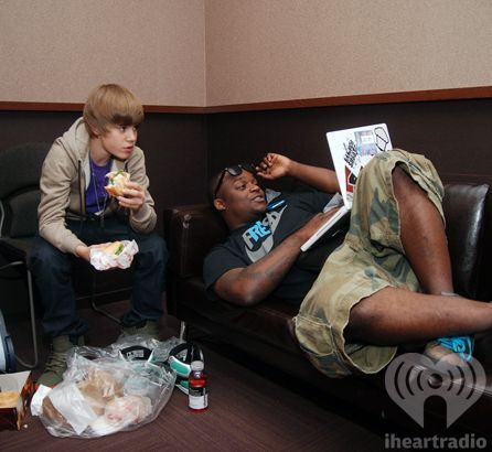 Justin Bieber Eating a Sub?