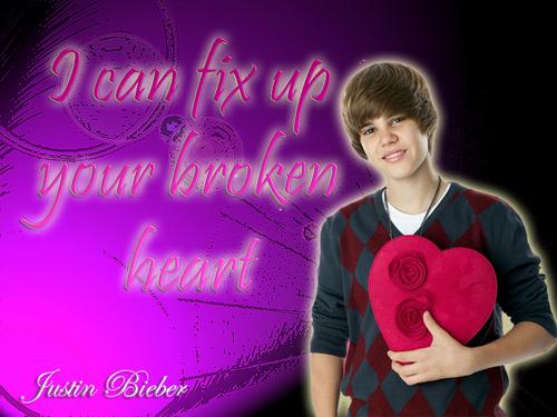 Justin Bieber achtergrond