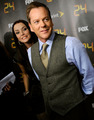 Kiefer and other 24 cast and crew in New York - kiefer-sutherland photo